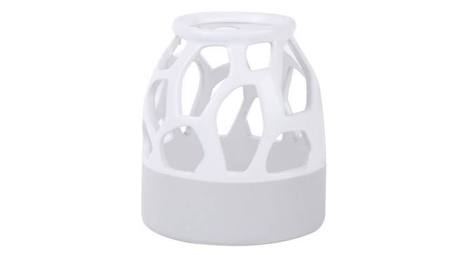 Jonathan Vase (White) by Urban Ladder - Front View Design 1 - 317477