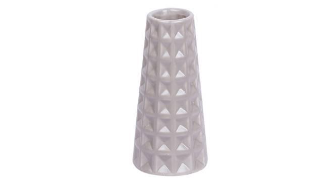 Stefan Vase (Grey) by Urban Ladder - Front View Design 1 - 317503