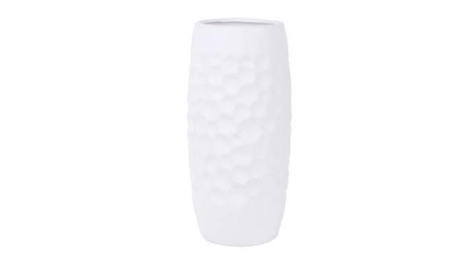 Atanas Vase (Grey) by Urban Ladder - Front View Design 1 - 317514