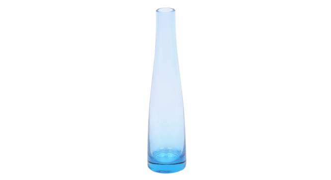 Nohr Vase (Blue) by Urban Ladder - Front View Design 1 - 317555