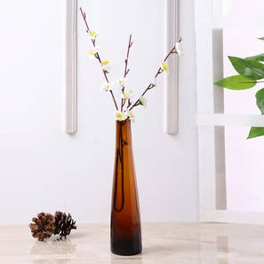 Liam vase brown lp