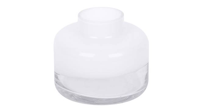 Albert Vase (White) by Urban Ladder - Front View Design 1 - 317583
