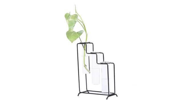 Elliot Vase - Set Of 3 (Transperant) by Urban Ladder - Design 1 Full View - 317591