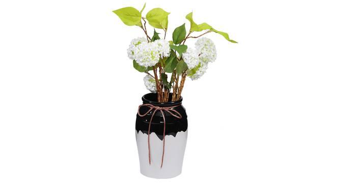 Lauge Vase (Black) by Urban Ladder - Design 1 Full View - 317606