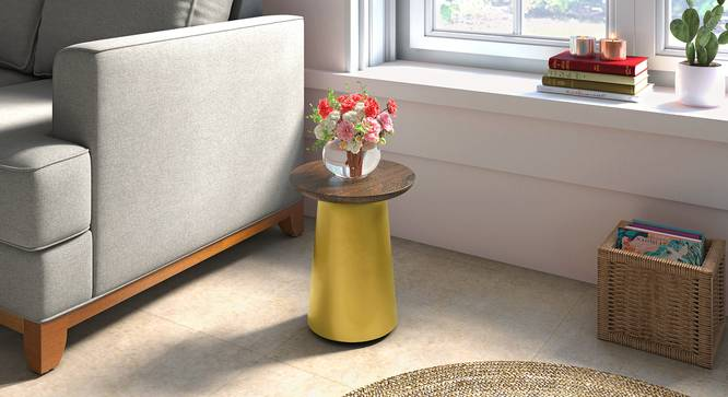 Rostrum Side Table (Small Size) by Urban Ladder - Full View - 317617