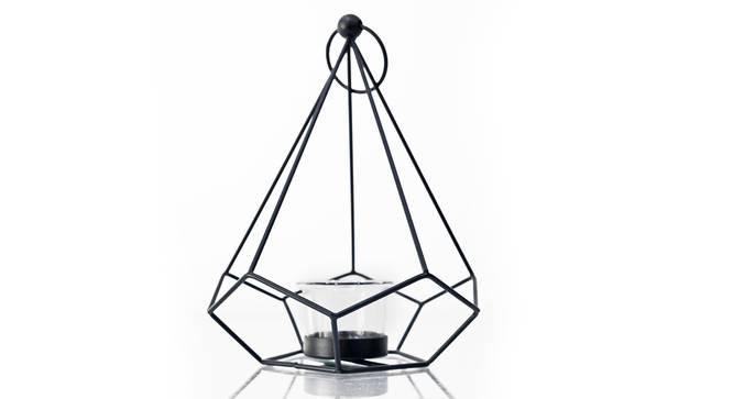 Emery Tea light Holder (Black) by Urban Ladder - Front View Design 1 - 317672