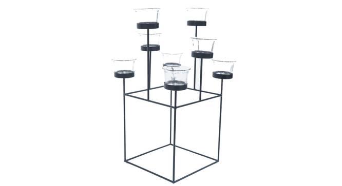 Garnet Tea light Holder (Black) by Urban Ladder - Cross View Design 1 - 317676