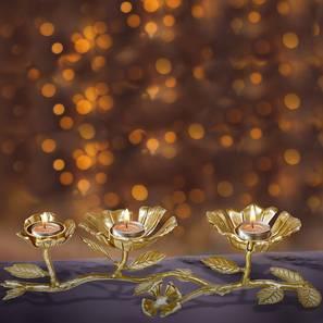 Melor Tea light Holder (Gold) by Urban Ladder - Design 1 - 317684