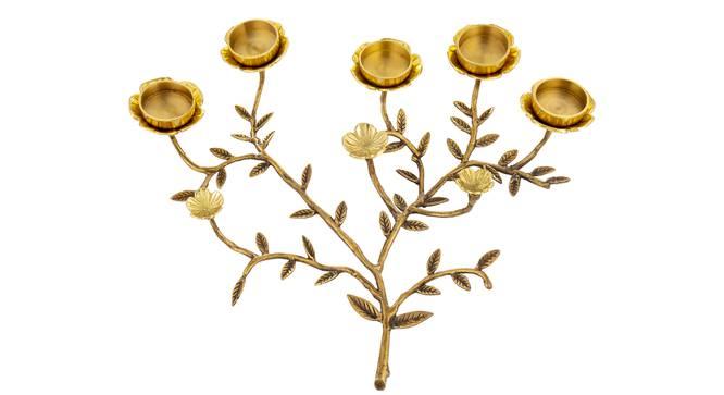 Kin Tea light Holder (Gold) by Urban Ladder - Cross View Design 1 - 317689