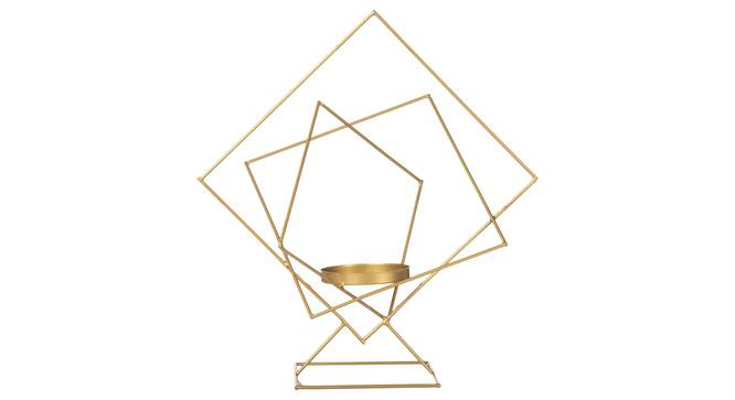 Poldi Candle Holder (Gold) by Urban Ladder - Front View Design 1 - 317707