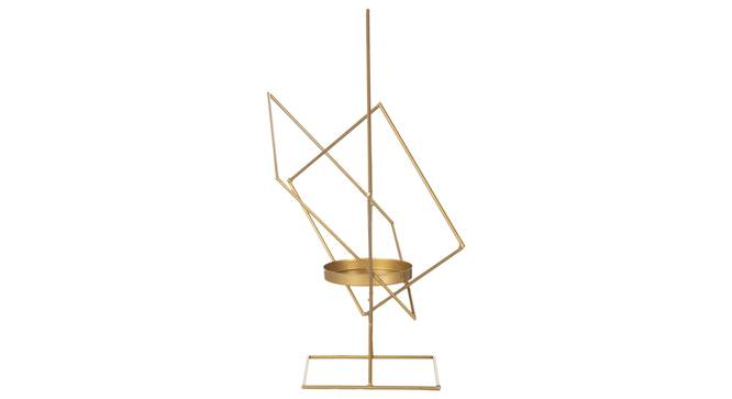 Poldi Candle Holder (Gold) by Urban Ladder - Cross View Design 1 - 317708