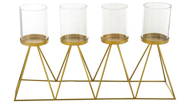 Musa Candle Holder (Gold) by Urban Ladder - Cross View Design 1 - 317755