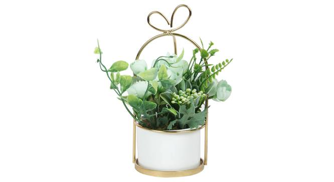 Eleonora Artificial Plant With Pot (Green) by Urban Ladder - Front View Design 1 - 317852