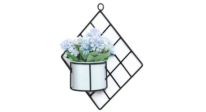 Giorgia Artificial Plant With Pot (Blue) by Urban Ladder - Front View Design 1 - 317860