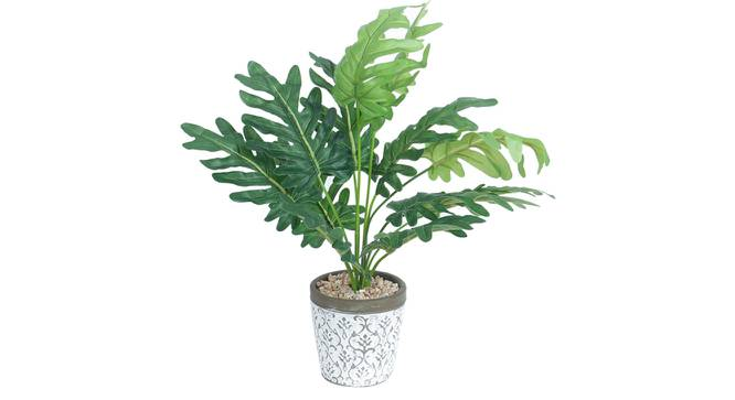 Gaia Artificial Plant With Pot (Green) by Urban Ladder - Design 1 Full View - 317887