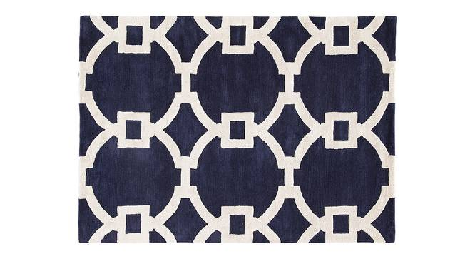 """Aabaad Hand Tufted Carpet (White, 152 x 244 cm  (60"""" x 96"""") Carpet Size) by Urban Ladder - Cross View Design 1 - 317975"""