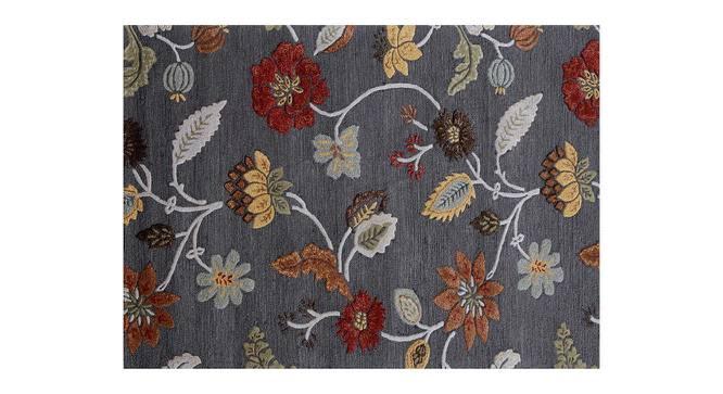 "Sabab Hand Tufted Carpet (Licorice, 152 x 244 cm  (60"" x 96"") Carpet Size) by Urban Ladder - Cross View Design 1 - 318033"