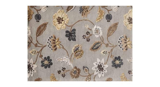 "Sabab Hand Tufted Carpet (107 x 168 cm  (42"" x 66"") Carpet Size, Ashwood) by Urban Ladder - Cross View Design 1 - 318049"