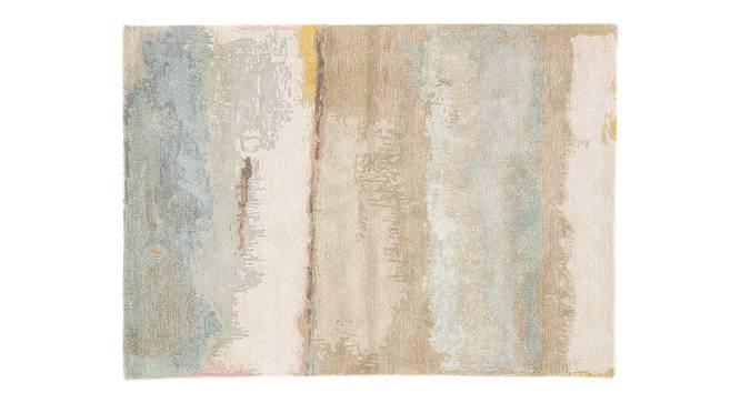 "Pinha Hand Tufted Carpet (152 x 244 cm  (60"" x 96"") Carpet Size, Soft Mint) by Urban Ladder - Cross View Design 1 - 318153"