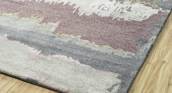 "Pinha Hand Tufted Carpet (122 x 183 cm  (48"" x 72"") Carpet Size, Ashwood) by Urban Ladder - Front View Design 1 - 318160"