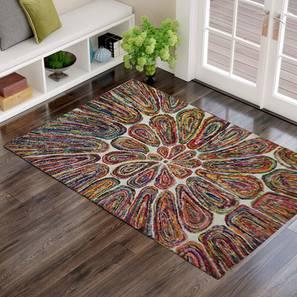 "Dacey Carpet (152 x 244 cm  (60"" x 96"") Carpet Size, Hand Tufted Carpet Type) by Urban Ladder - Design 1 - 318171"