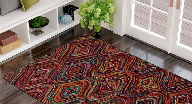 "Gaenor Carpet (122 x 183 cm  (48"" x 72"") Carpet Size, Hand Tufted Carpet Type) by Urban Ladder - Front View Design 1 - 318200"