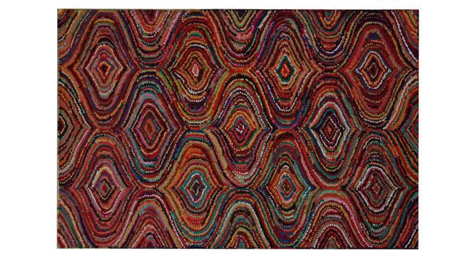 "Gaenor Carpet (122 x 183 cm  (48"" x 72"") Carpet Size, Hand Tufted Carpet Type) by Urban Ladder - Design 1 Side View - 318201"