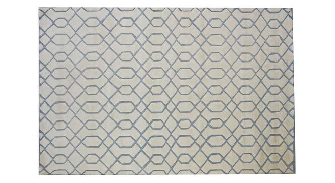 "Huden Carpet (Beige, 152 x 244 cm  (60"" x 96"") Carpet Size, Hand Tufted Carpet Type) by Urban Ladder - Design 1 Side View - 318213"