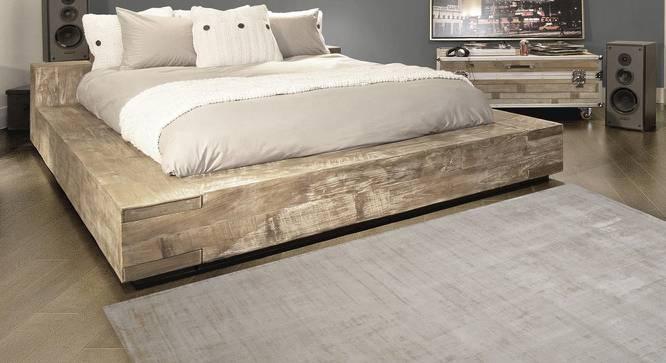 "Yarmund Carpet (Ivory, Hand Tufted Carpet Type, 200 x 290 cm ( 79"" x 114"") Carpet Size) by Urban Ladder - Front View Design 1 - 318308"