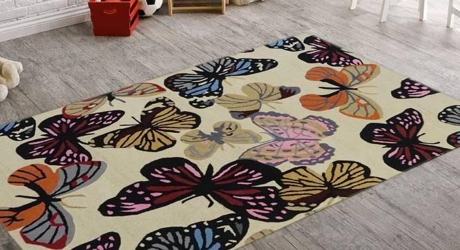"Cars Kids Carpet (122 x 183 cm  (48"" x 72"") Carpet Size, Hand Tufted Carpet Type) by Urban Ladder - Front View Design 1 - 318336"
