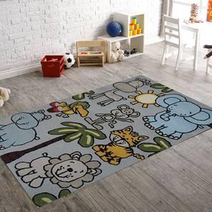 "Home Town Kids Carpet (122 x 183 cm  (48"" x 72"") Carpet Size, Hand Tufted Carpet Type) by Urban Ladder - Design 1 - 318359"