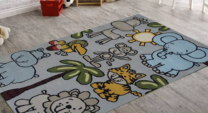 "Home Town Kids Carpet (122 x 183 cm  (48"" x 72"") Carpet Size, Hand Tufted Carpet Type) by Urban Ladder - Front View Design 1 - 318360"