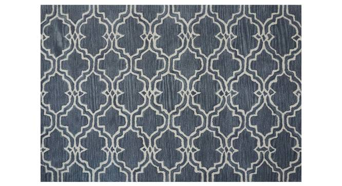 "Luke Carpet (Grey, 122 x 183 cm  (48"" x 72"") Carpet Size, Hand Tufted Carpet Type) by Urban Ladder - Design 1 Side View - 318369"