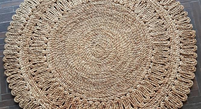 "Kirk Dhurrie (120 x 120 cm (48"" x 48"") Carpet Size) by Urban Ladder - Design 1 Side View - 318385"