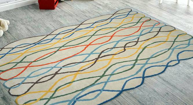 """Into the Wild Kids Carpet (122 x 183 cm  (48"""" x 72"""") Carpet Size, Hand Tufted Carpet Type) by Urban Ladder - Front View Design 1 - 318388"""