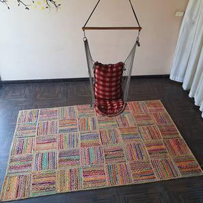 "Menton Dhurrie (152 x 244 cm  (60"" x 96"") Carpet Size) by Urban Ladder - Design 1 - 318395"