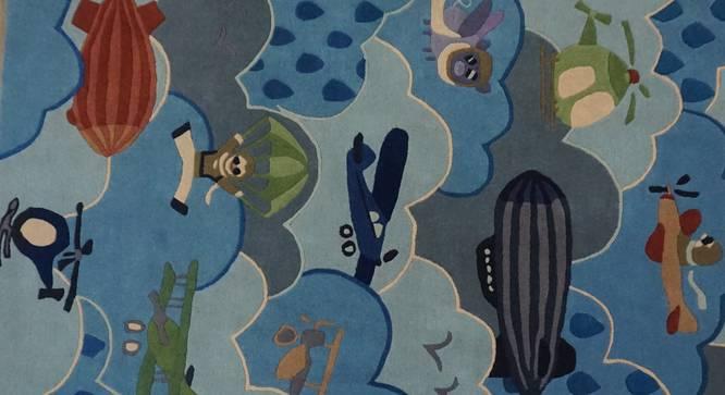 "Popeye Kids Carpet (122 x 183 cm  (48"" x 72"") Carpet Size, Hand Tufted Carpet Type) by Urban Ladder - Design 1 Side View - 318405"