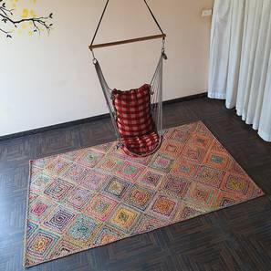 "Toulon Dhurrie (152 x 244 cm  (60"" x 96"") Carpet Size) by Urban Ladder - Design 1 - 318447"