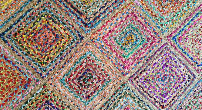 "Toulon Dhurrie (152 x 244 cm  (60"" x 96"") Carpet Size) by Urban Ladder - Design 1 Side View - 318449"