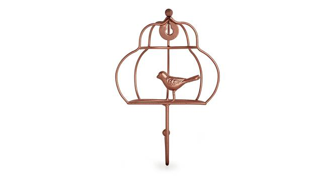 Rune Towel Holder (Copper) by Urban Ladder - Front View Design 1 - 318534