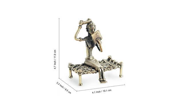 Farda Showpiece (Gold) by Urban Ladder - Design 1 Side View - 318578