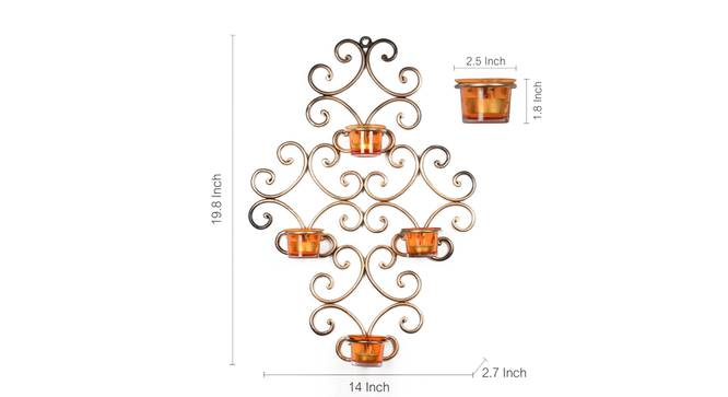 Ahini Tealight Holder by Urban Ladder - Front View Design 1 - 318719