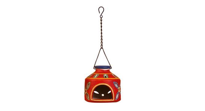 Malin Tealight Holder (Crimson Red) by Urban Ladder - Design 1 Full View - 318757