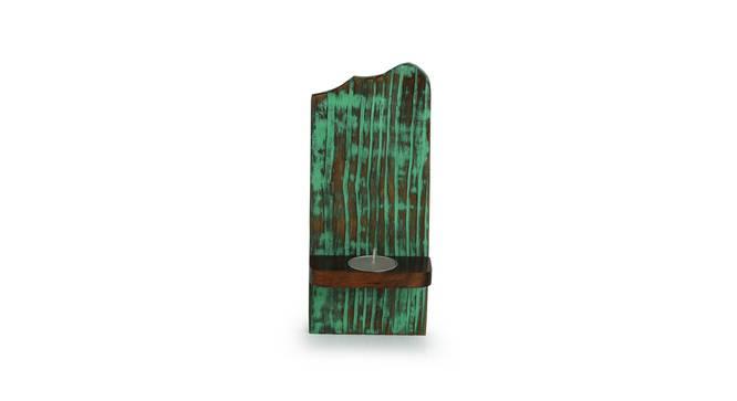 Oda Tealight Holder (Teal) by Urban Ladder - Design 1 Full View - 318778