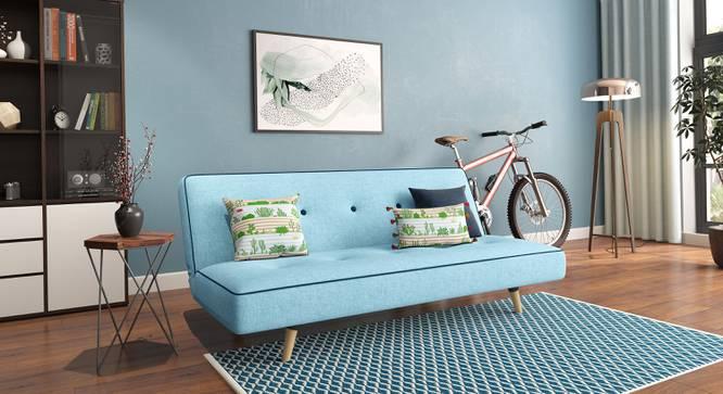 Zehnloch Sofa Cum Bed (Glacier Blue) by Urban Ladder - Full View Design 1 - 318798