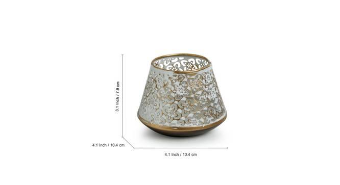 Turnip Tealight Holder by Urban Ladder - Front View Design 1 - 318827