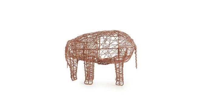 Latika Tealight Holder (Copper) by Urban Ladder - Design 1 Full View - 318908
