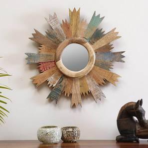 Cartwheel Wall Mirror by Urban Ladder - Design 1 Full View - 319092