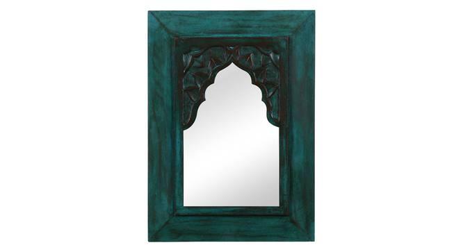 Cora Wall Mirror (Green) by Urban Ladder - Design 1 Full View - 319095