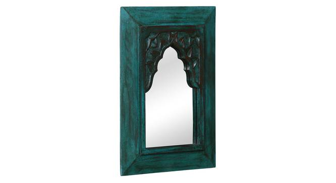 Cora Wall Mirror (Green) by Urban Ladder - Front View Design 1 - 319096